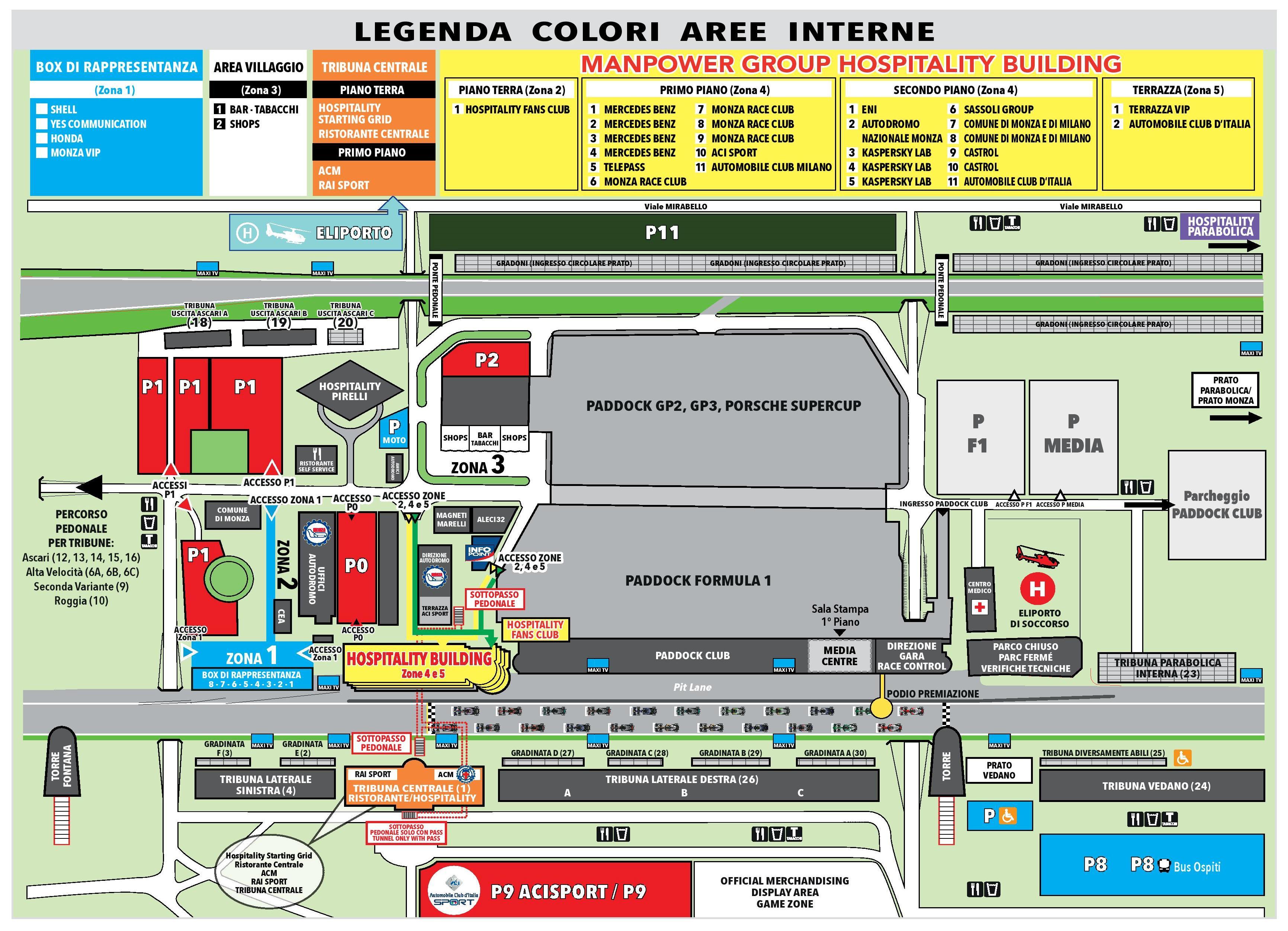 Circuito Monza : F circuit profile u italy monza autodromo nazionale monza
