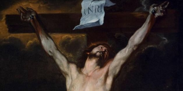 'Christ on the Cross' by Anton Van Dyck at the Reggia di Monza