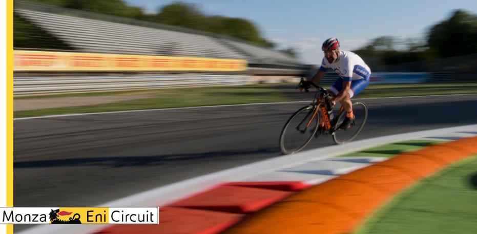 Accesso libero in pista per ciclisti, rollerblades e skates