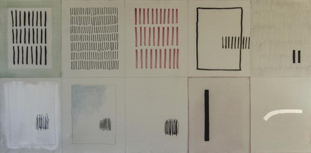 Arturo Vermi. Antologia,1975 t.m. 120x60
