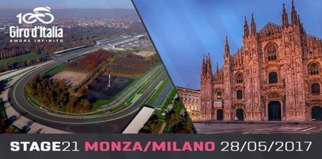 21° Tappa Monza - Milano