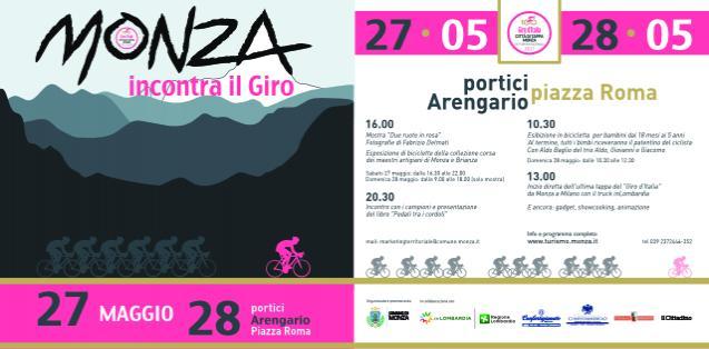 Monza incontra il Giro d'Italia Programma