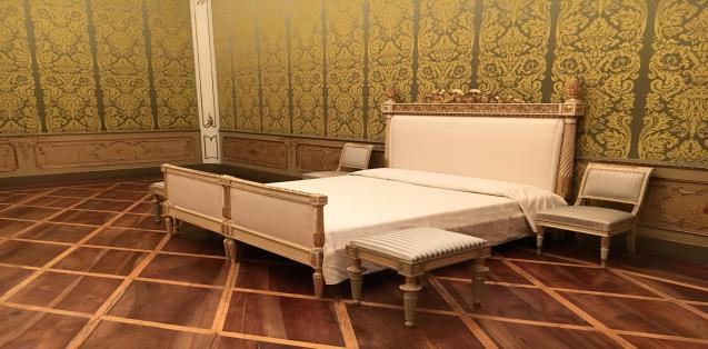 Il letto della Regina