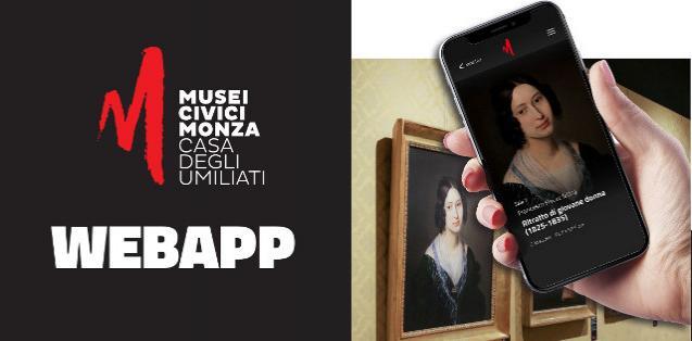 Smart Guide Web App dei Musei Civici di Monza